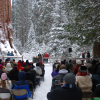 Trek To The Nation's Christmas Tree Ceremony At Kings Canyon National Park