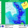 Central Sierra Gets Wet This Week