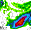 California Storms Fade Thru Mid-Month