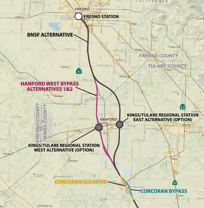 Visalia Might Get Its Way On High Speed Rail Kings County Plays