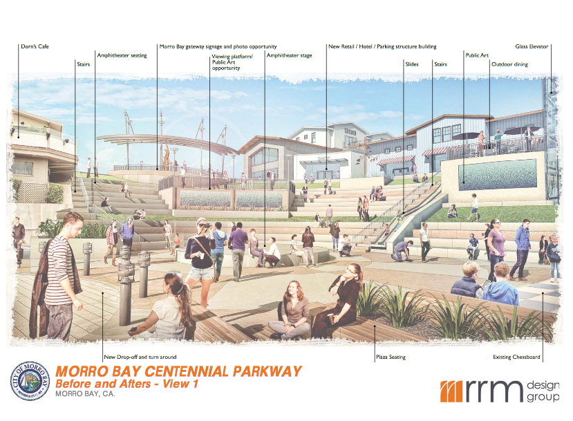 one concept for Centennial Plaza