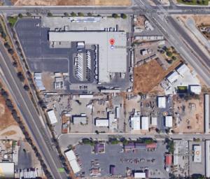Fresno UPS hub next to Hwy99